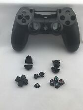 Original Genuine Sony PS4 Wireless Controller Shell Case Black + Buttons NEW