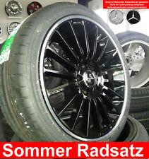 """19"""" KESKIN KT15 BL E45 AMG C63 Design Radsatz 225/35 für Mercedes A Klasse 176"""
