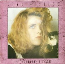"LONE JUSTICE i found love/if you don't like the rain GEF 18 uk 1987 7"" PS EX/EX"
