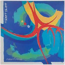 ROBERT PLANT: Shaken N' Stirred USA Orig Sterling w/ Inner LP VG++ Led Zeppelin