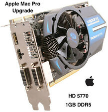 Apple Mac Pro ATI RADEON HD 5770 Vapor X 1GB GDDR5 Graphics Card Upgrade.