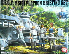 Bandai 1/35 E.F.G.F MS G Platoon Briefing Set U.C. Hard Graph Mobile Suit Gundam