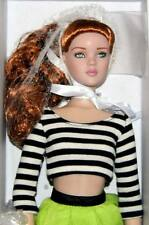 "Party all Night Party Stripes Cami 16"" Tonner doll NRFB* Gorgeous red hair!"