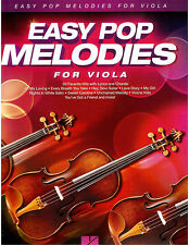 Pop Melodies Viola Sheet Music - Beatles, Owl City, Sting, Train, Taylor Swift !