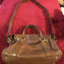 BEAUTIFUL Marc Jacobs Vintage Brown Leather Satchel/Handbag/Shoulder Bag/Tote