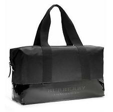 NWT Burberry Fragrances Men Duffle Weekender Bag Gym Overnight Travel Handbag !