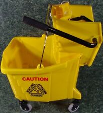 Industrial MOP TROLLEY BUCKET on wheels with Ringer new