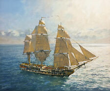 Geoff Hunt Limited Edition Print - Flying Kites – H.M.S. Surprise