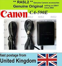 Original Canon CA-590e Power adapter DC302 MD160 ZR800 ZR830 ZR850 ZR930 ZR950