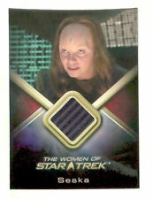WOMEN OF Star Trek costume chase trading card SESKA Martha Hackett WCC24 Voyager