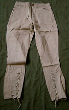 WWI US ARMY INFANTRY M1912 SUMMER COMBAT FIELD TROUSERS BREECHES- XSMALL