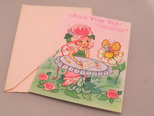 Rose Petal Place Birthday Greeting card featuring Rose, friends - coloring