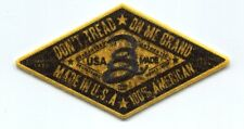 DON'T TREAD ON ME BRAND rattlesnake IRON-ON PATCH **FREE SHIPPING** usa american