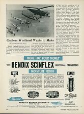1951 Aviation Article Westland Aircraft England Sikorsky S-51 S-55 Helicopter