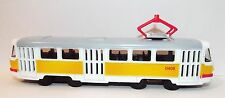 Moscow tram Tatra T3. Metal toy. 1/87 scale.