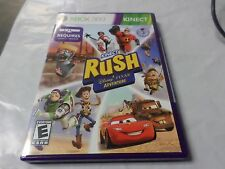 Kinect Rush: A Disney Pixar Adventure Game Brand New SEALED Microsoft Xbox 360