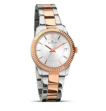 Accurist Ladies Rose Gold Plated Two Tone Date Watch 8014