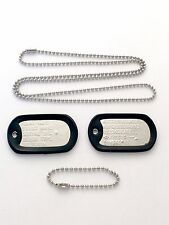 Military Dog Tags Dull Current Issue