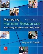 Managing Human Resources with Connect Access Card by Wayne Cascio (2015,..)