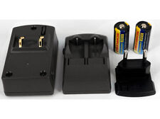 Ladegerät für MAXELL 123, CR-123, ER2/3A, 1 Jahr Garantie