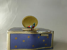 VINTAGE GERMAN KARL GRIESBAUM SINGING BIRD BOX MUSIC BOX AUTOMATON (WATCH VIDEO)