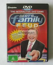 Bert's Family Feud interactive DVD game like new