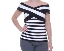 INC International Concepts Striped Off-The-Shoulder Knit Top Size XL