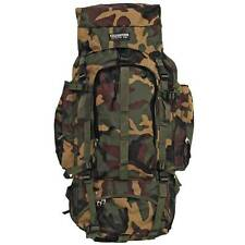"""NEW Large 34"""" CAMO BACKPACK DAY PACK Hiking Mountaineer Camping Mountain Bag"""