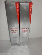 Givenchy Makeup Courbe Miroir Lash Curling Mascara #33 Brown (Lot of 2) New