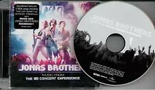 Jonas Brothers ‎– Music From The 3D Concert Experience CD Album 2009