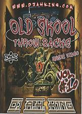 OLD SKOOL THROWBACKS VOL 10 MUSIC VIDEO DVD RAP/HIP HOP OLD SCHOOL HIP HOP