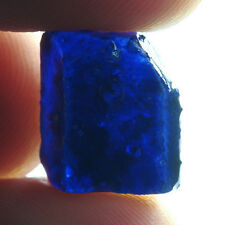16.9CT Blue Sapphire Specimen Rough Collectible Natural UBBB2525