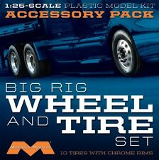 Moebius Models [MOE] 1:25 Big Rig Wheel and Tire Set (10) MOE1010