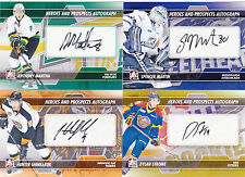 13-14 ITG Spencer Martin Auto SP Heroes & Prospects Mississauga Steelheads