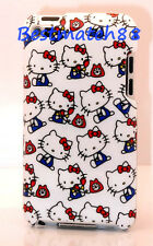 FOR IPOD TOUCH 4TH 4 TH 4 GEN ITOUCH BACK hello kitty kitten CASE WHITE BLUE RED