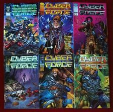Cyberforce (1993) #1, 4, 8 & 20-24 - Comic Books - Image Comics