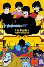 ROCK MUSIC POSTER The Beatles Two Worlds