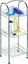 Free-standing Chrome Oceania Bathroom Shelving Unit