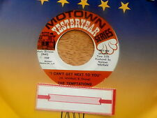 TEMPTATIONS~I CAN'T GET NEXT TO YOU~Unplayed Soul 45~Jukebox Re-issue