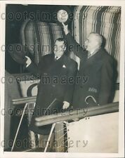 1945 Canada Politicians Paul Martin & Louis St Laurent  Press Photo