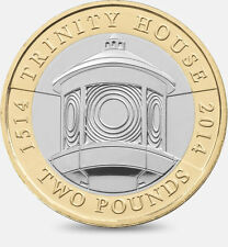£2 Coin - 500th Anniversary of Trinity House - Rare - Collectable - Two Pound
