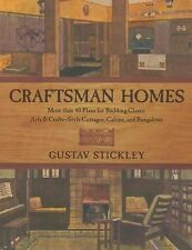Craftsman Homes: More than 40 Plans for Building Classic Arts & Crafts-Style Co