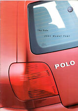 Volkswagen Polo Hatchback 2000-01 UK Market Sales Brochure E S SE 16v GTi