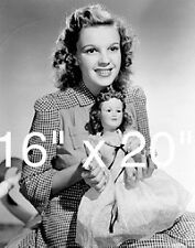 "Judy Garland Doll~Wizard of Oz int~~Poster~ Photo~ 16"" x  20"""