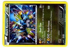 PROMO POKEMON BLACK & WHITE HOLO N° BW58 BLACK KYUREM 130 HP Attack 100