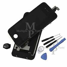 iPhone 4 / GSM Replacement LCD Touch Screen Digitizer + Back Glass, Black