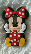Silicone Cover per cellulari MINNIE RED para LG G3