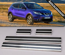 Nissan qashqai (5 places) sill protections/coup de pied plaques