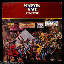 MARVIN GAYE-I WANT YOU- Nice 70's Soul Album-TAMLA #T6-342 S1-SOUL