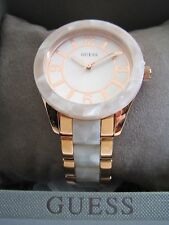 GUESS LADIES WATCH GODDESS W0074L2 ROSE GOLD STAINLESS STEEL BNWT